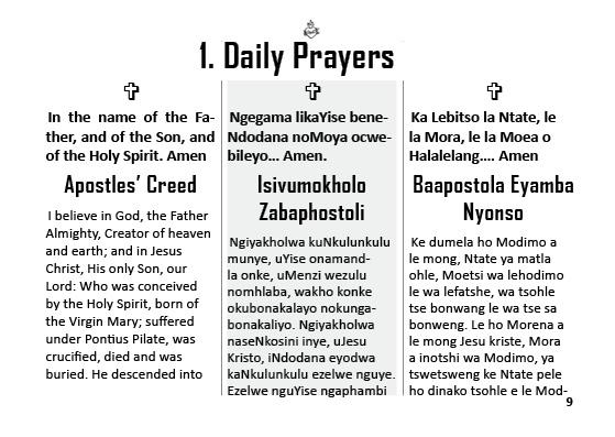 our prayer book